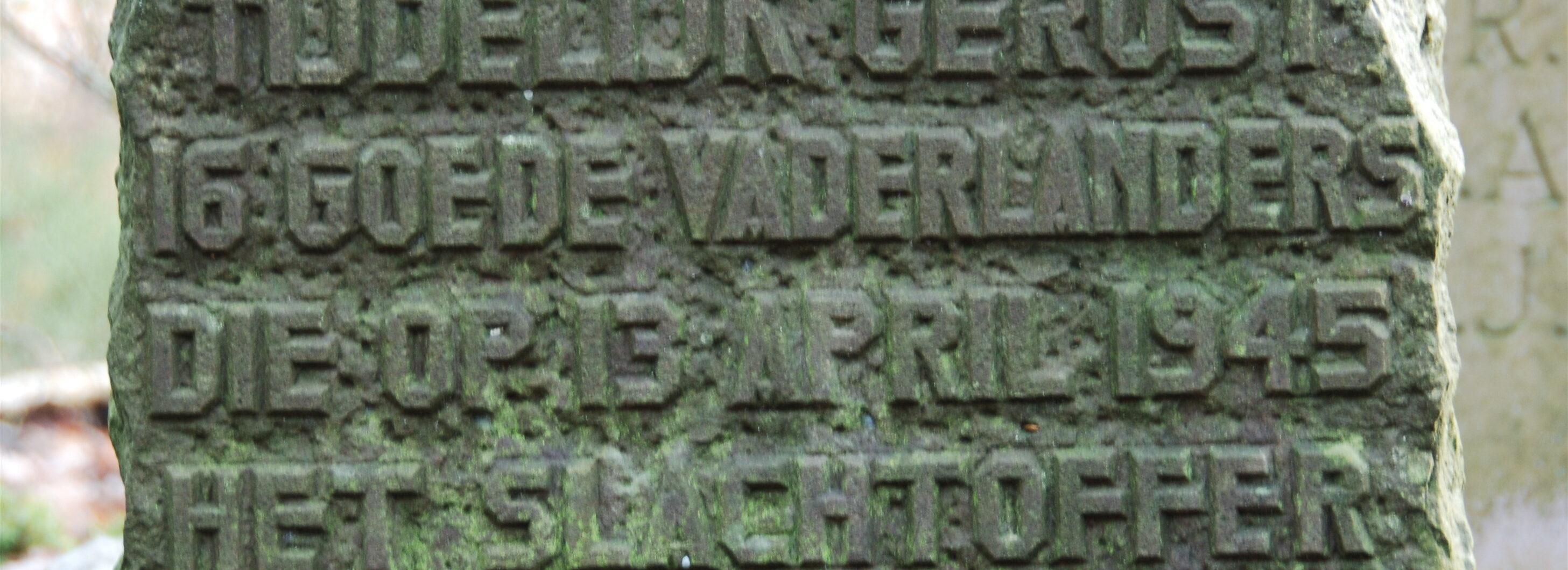 Hoog Soeren, monument in het Kruisjesdal