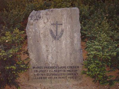 Valkenburg, monument voor S. Coenen en J. Francotte