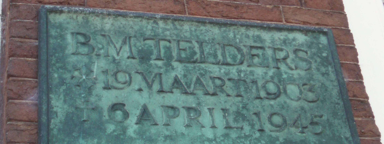 Leiden, monument voor prof. mr. B.M. Telders (1)