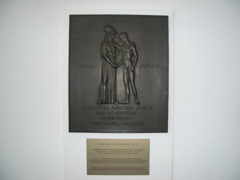 Den Haag, 'Het Studentenverzet 1940-1945' (foto: Ministerie van OCW)