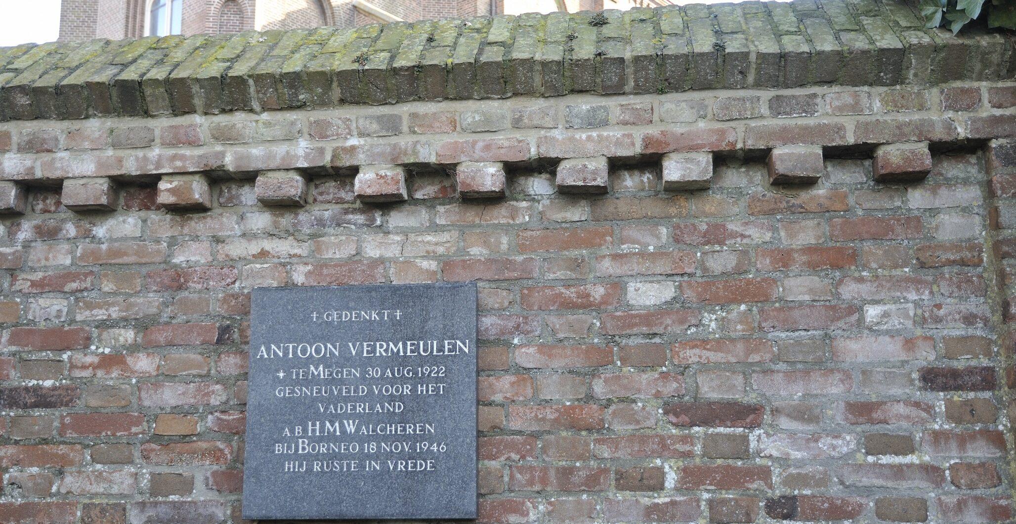 Megen, monument op de begraafplaats