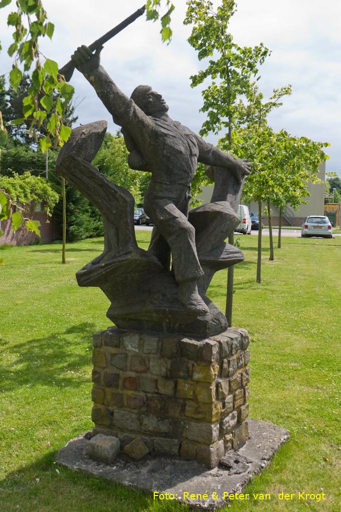 Roosendaal, 'Monument voor het Korps Commandotroepen' (foto: Peter en René van der Krogt)