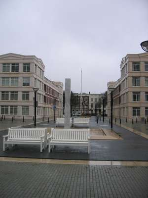 Den Haag, 'Bevrijdingsmonument Irene' (foto: Ars Longa Tentoonstellingen)