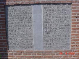Haaren, monument aan de Driehoeven
