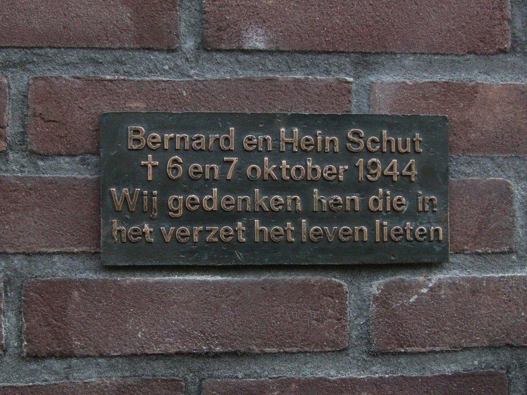 Oisterwijk, monument voor de gebroeders Schut (foto: Jan Meynard van Emst)