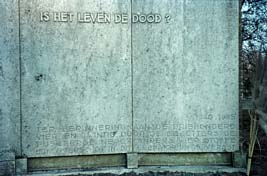 Driehuis, monument op begraafplaats 'Westerveld' (1)