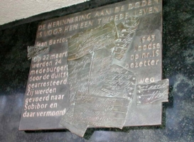 Den Haag, monument in de Reinkenstraat