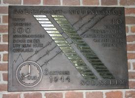 Gorinchem, monument bij de Grote Kerk