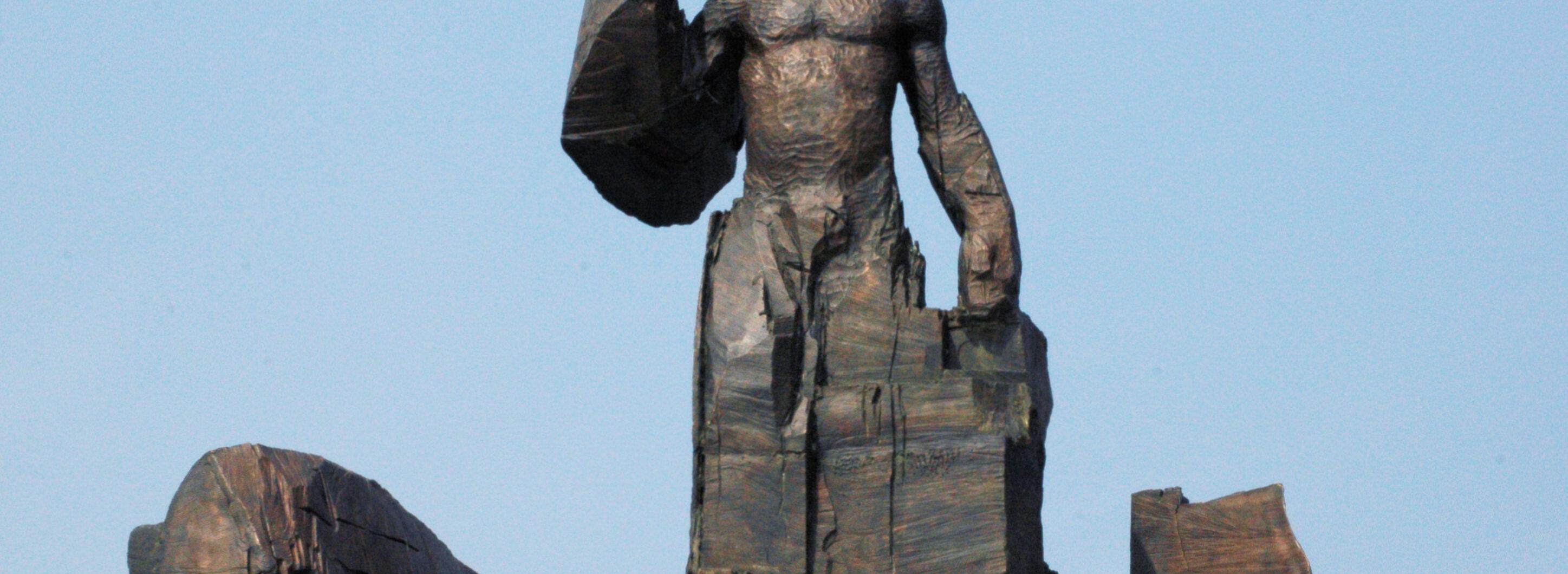 Amsterdam, monument voor Anton de Kom