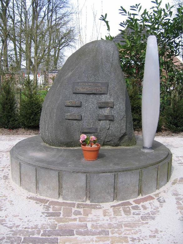 Zwolle, monument aan de Eikenlaan
