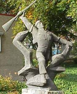 Roosendaal, 'Monument voor het Korps Commandotroepen'