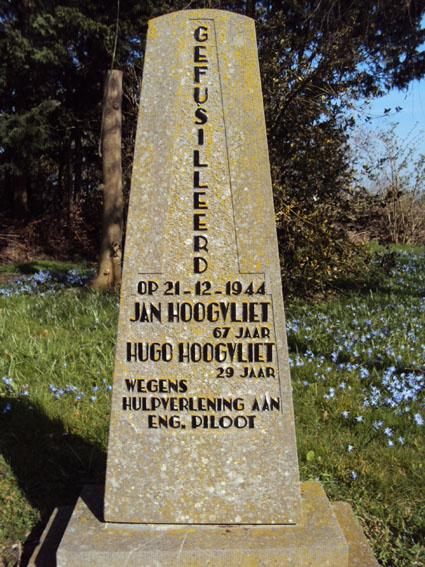 Rockanje, monument aan de Blindeweg