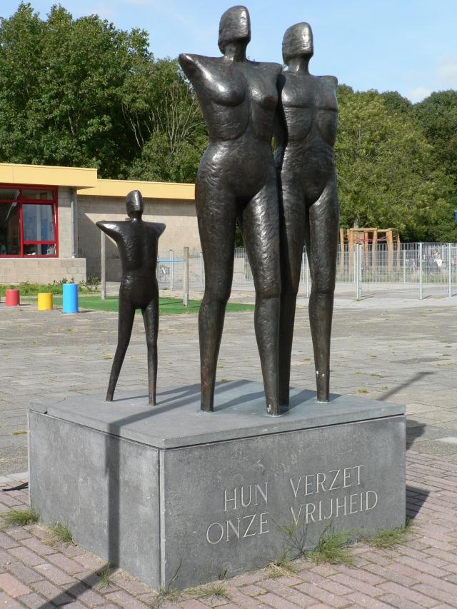 Delft, verzetsmonument (2)