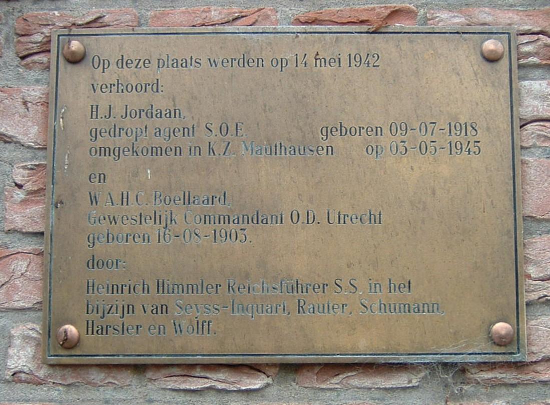 Den Haag, monument op het landgoed 'Clingendael'