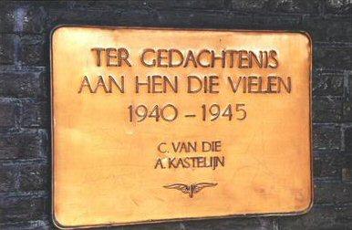 Barendrecht, plaquette in het NS-station