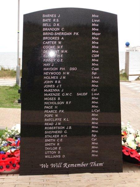 Domburg, 'Monument voor Britse Commando's'