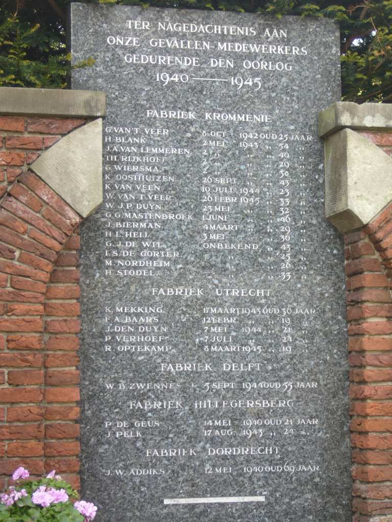 Krommenie, 'Verblifa-monument'