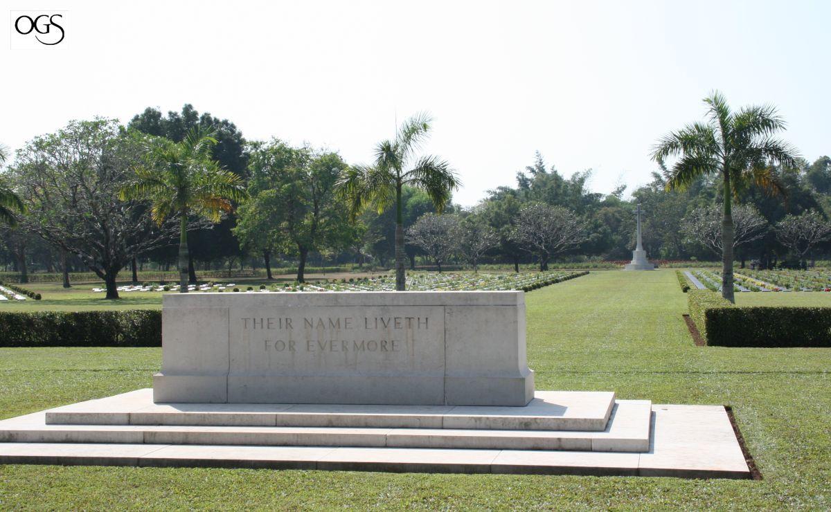 Thanbyuzayat, Nederlandse graven op Ereveld Thanbyuzayat (foto: Oorlogsgravenstichting)