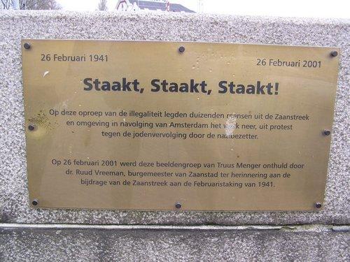 Zaandam, 'Februaristaking'