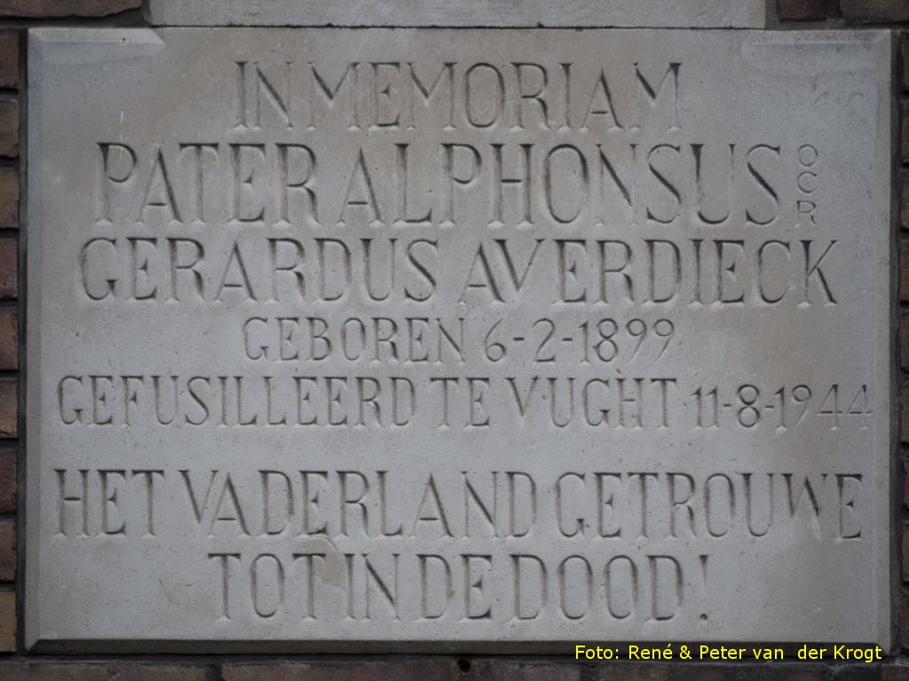 Roosendaal, 'Pater Alphonsus'