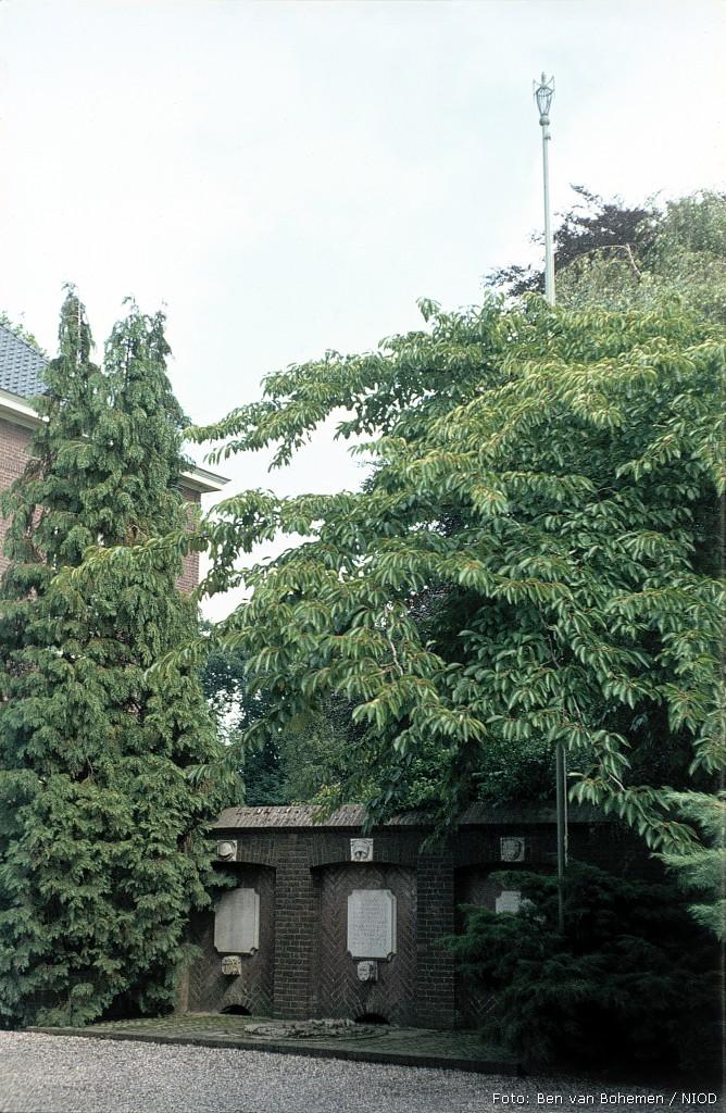Heerde, monument in het Van Meurspark