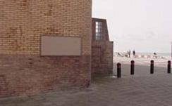 Zandvoort, monument in het Schuitengat