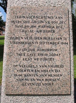 Steenbergen, monument in het Stadspark