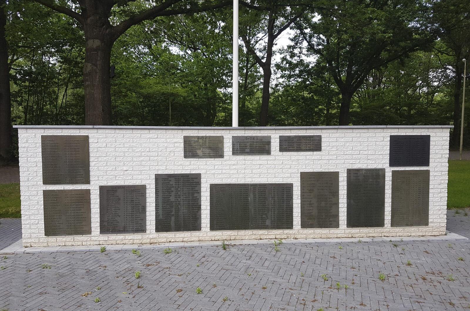 Oirschot, monument voor gesneuvelde Limburgse Jagers