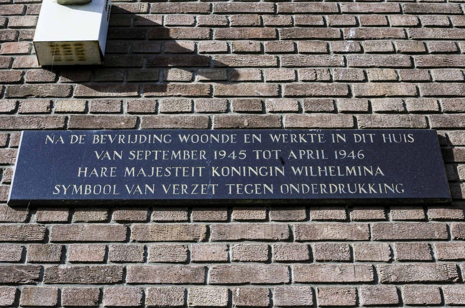 Den Haag, 'Wilhelminaplaquette'