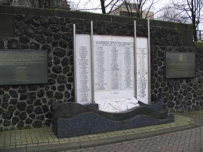 Amsterdam, KNSM-monument