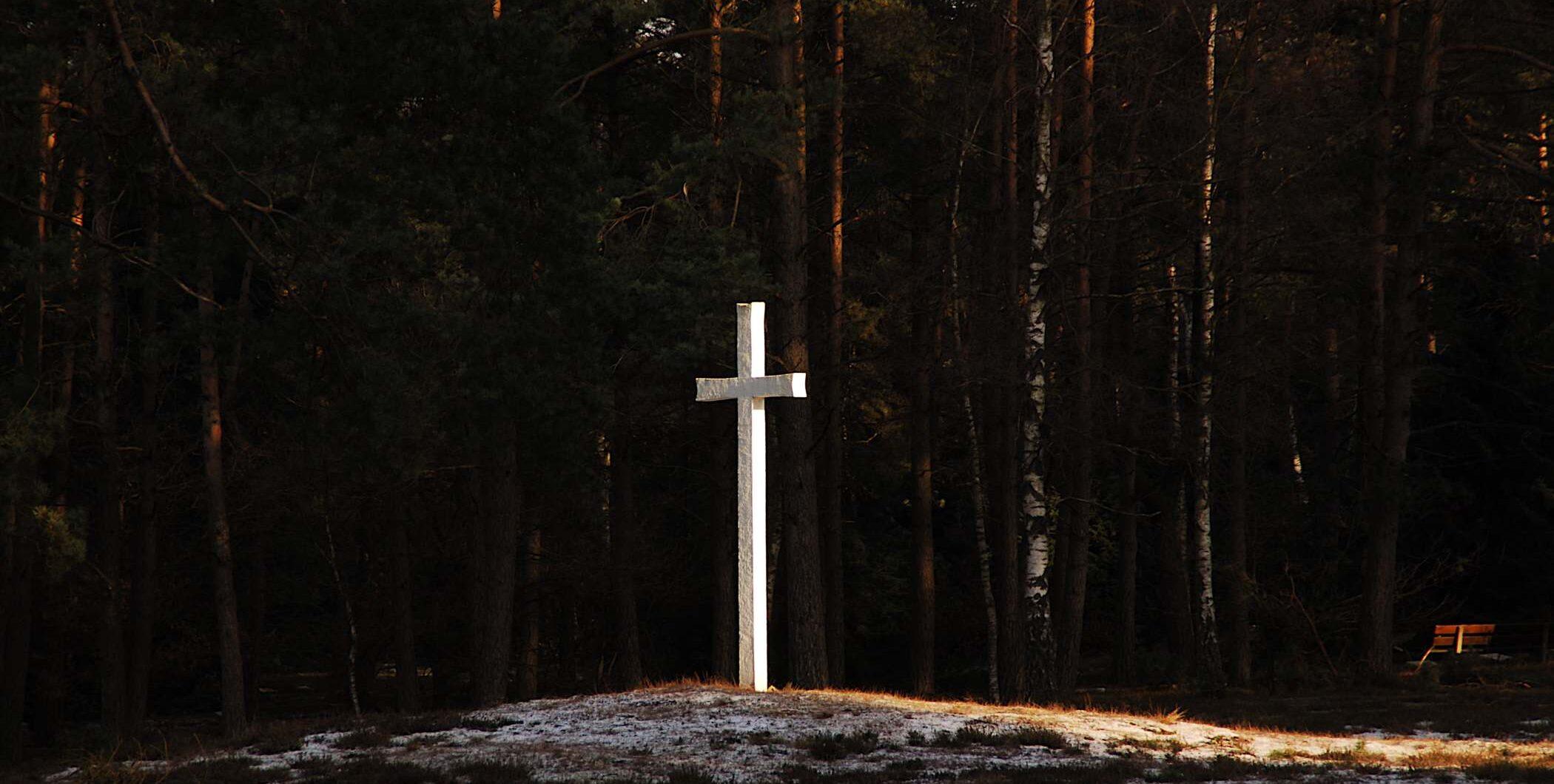 Loenen, Ereveld Loenen - kruis (foto: Jan van den Heuvel)
