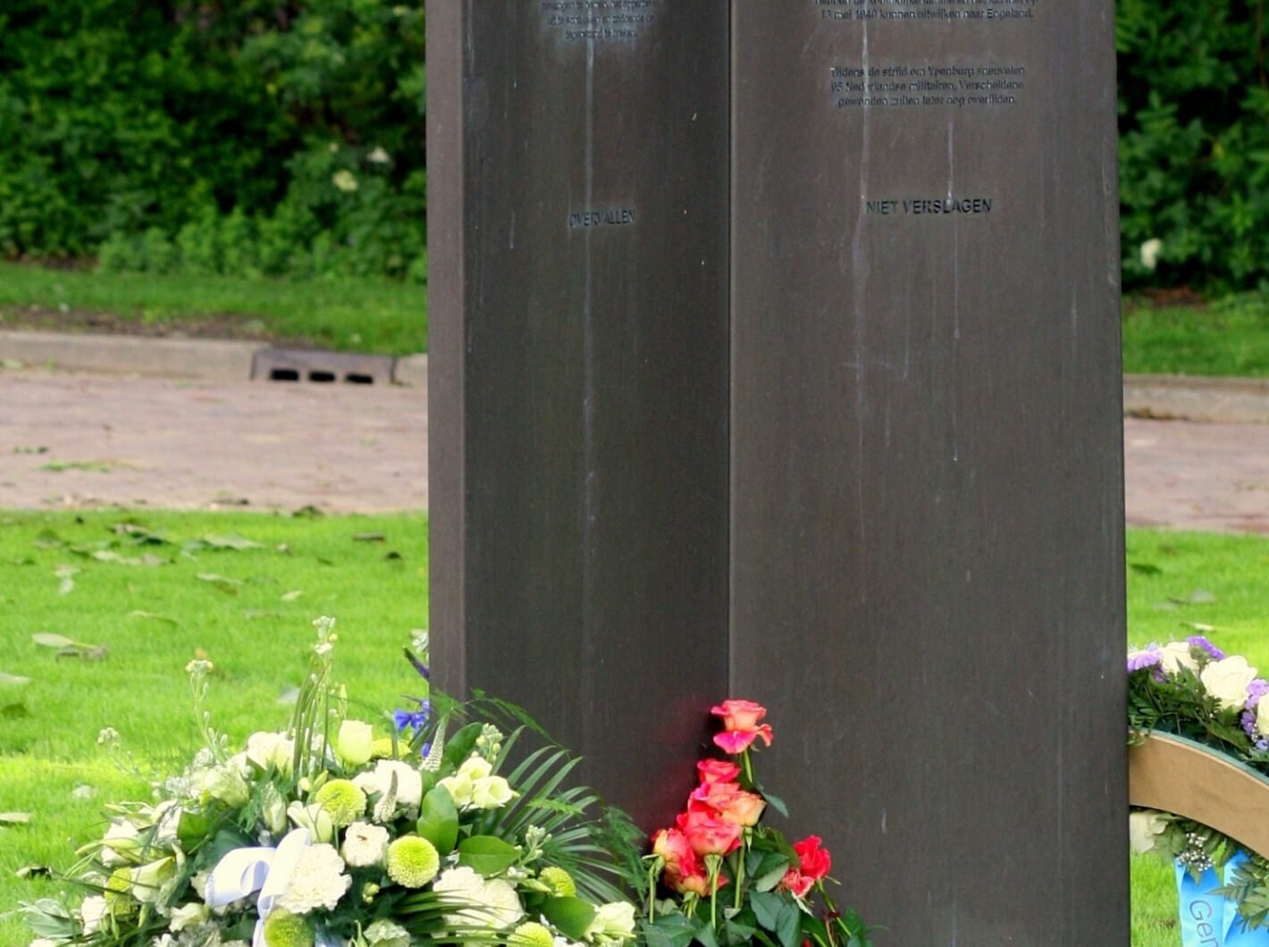 Kleiner deel monument Ypenburg