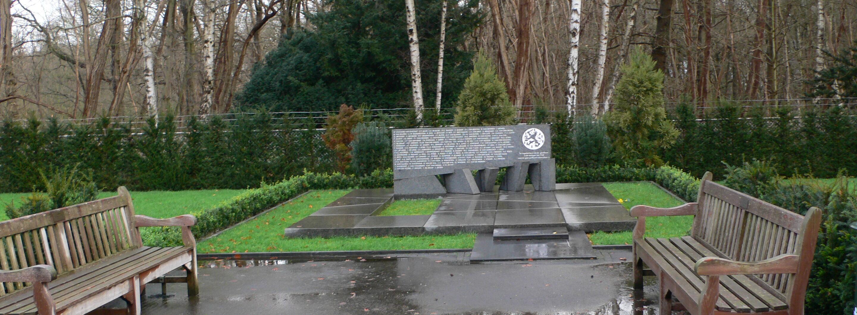 Rhenen, gedenkplaat voor gevallenen zonder aanwijsbare rustplaats (foto: Nationaal Comité 4 en 5 mei)