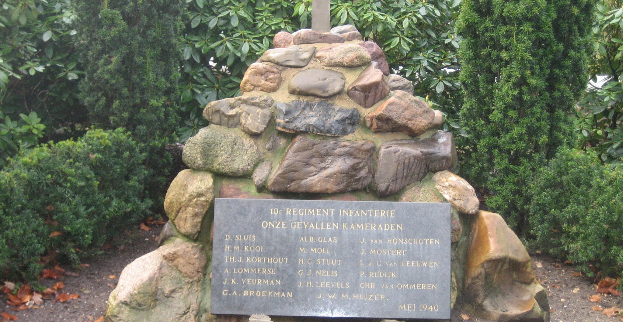 Rhenen, Militair Ereveld Grebbeberg