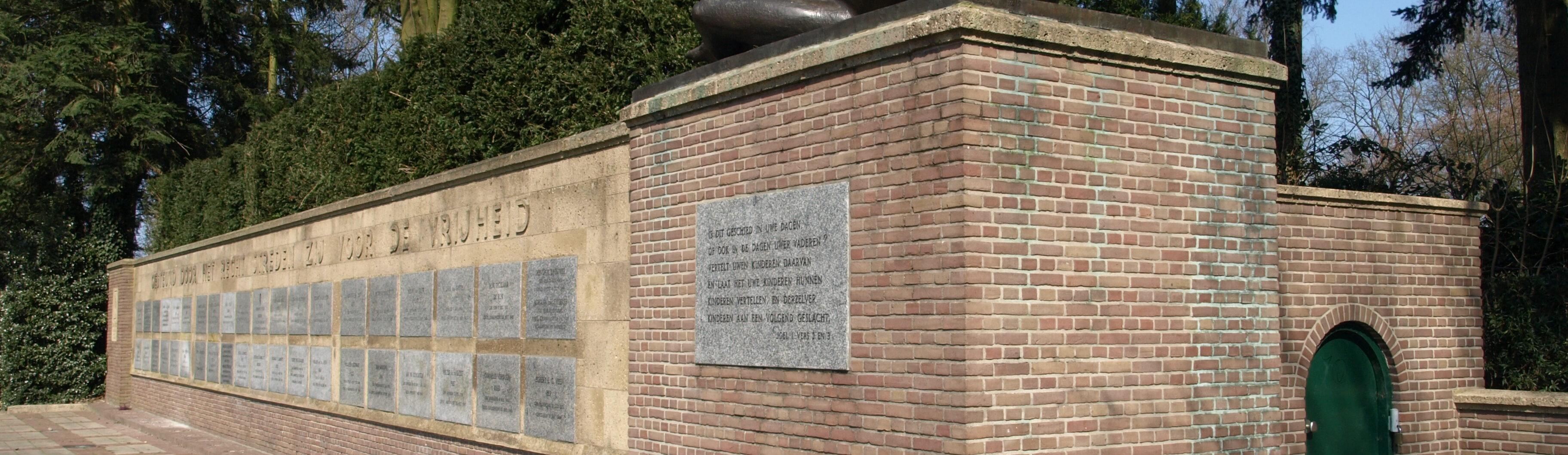 Ede, Mausoleum op de Paasberg (foto: Bert de Vos)