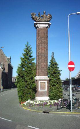 Roosendaal, monument bij het NS-station