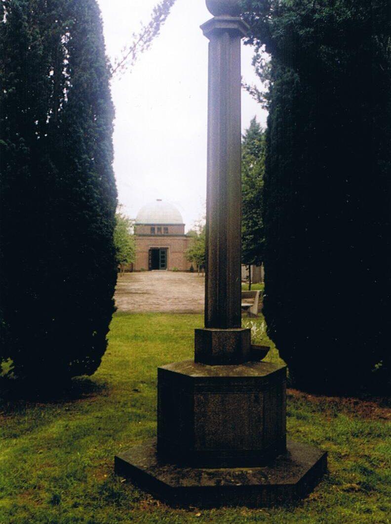 Enschede, monument op de Joodse begraafplaats