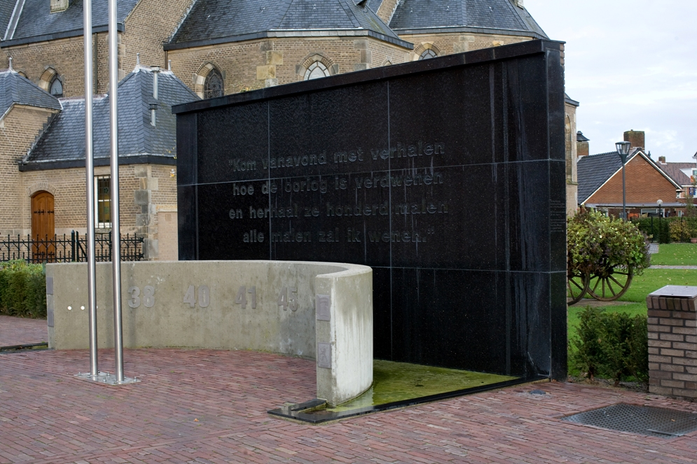 Denekamp, vrijheidsmonument (foto: Janita Sassen)