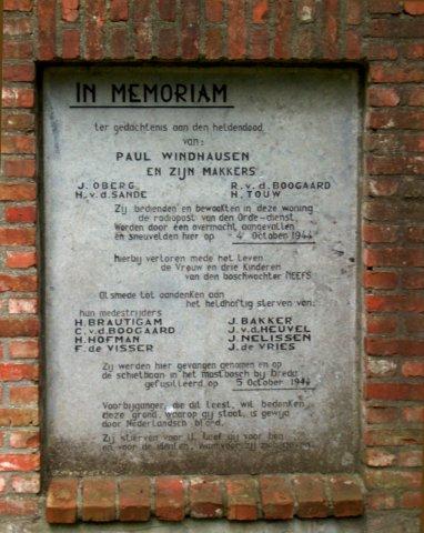 Rijsbergen, 'Vloeiweide monument'
