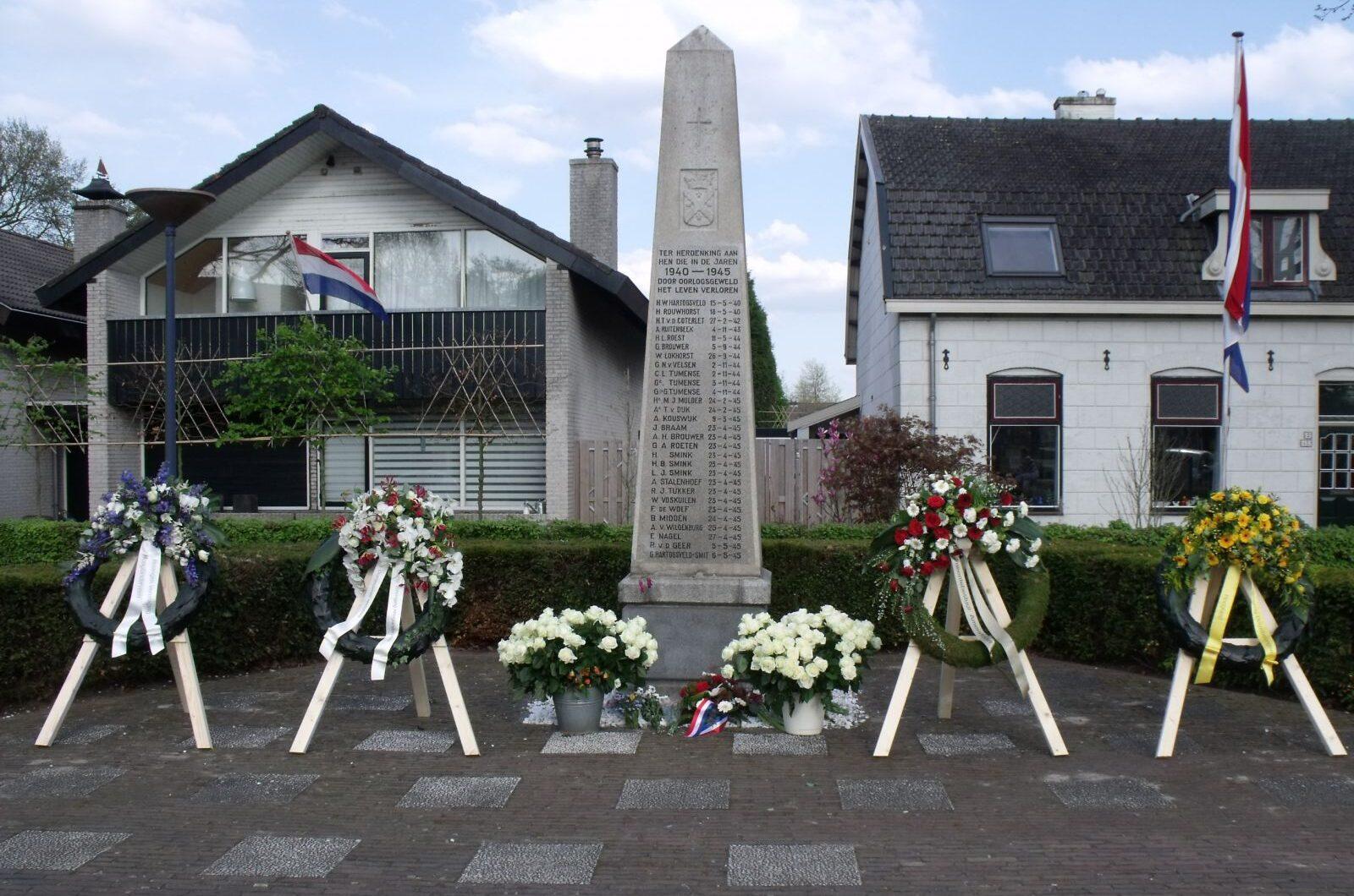 Hoogland, herdenkingsmonument