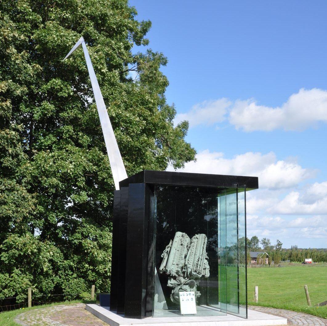 Jaarsveld, Monument op de Lekdijk-Oost (foto: Onderwijsgek op Wikimedia Commons - CC BY-SA 3.0)