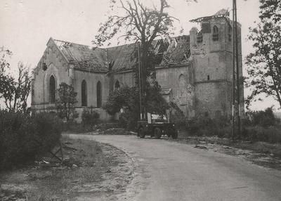 Oosterbeek, plaquette bij de N.H. kerk