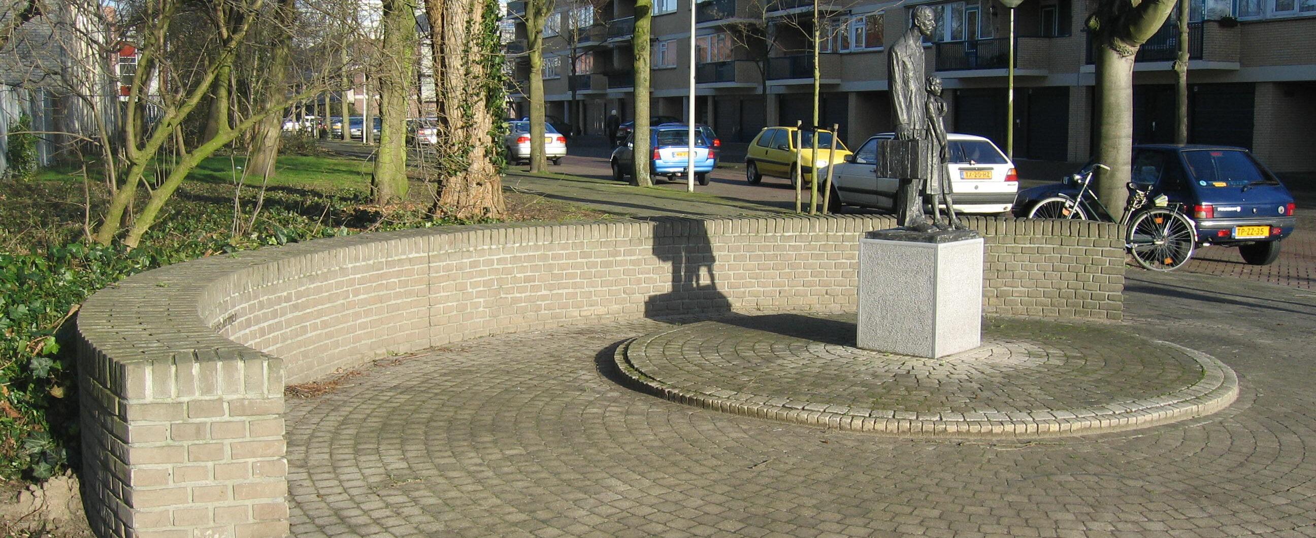 Amsterdam, 'Monument voor het Ondergedoken Kind en Beschermer'