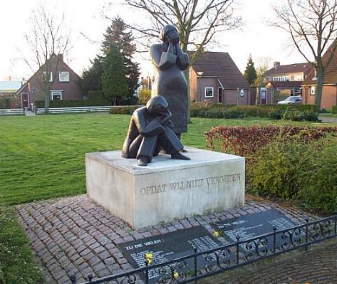 Nieuwendijk, oorlogsmonument