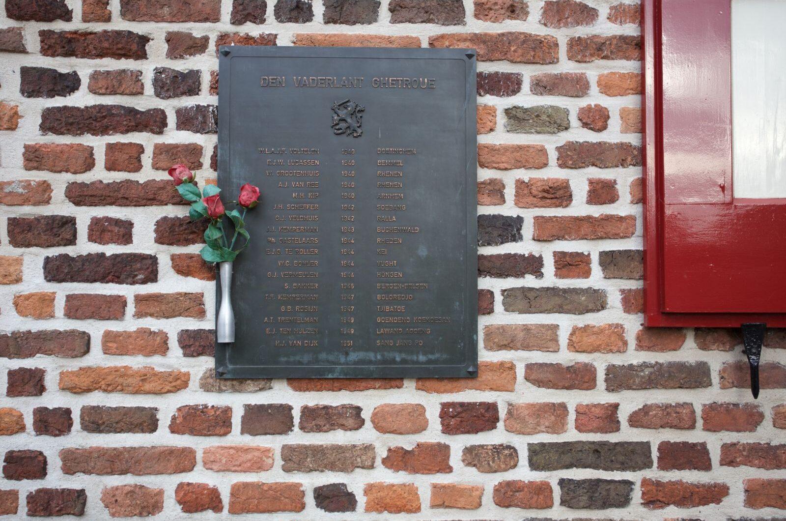 Doesburg, oorlogsmonument