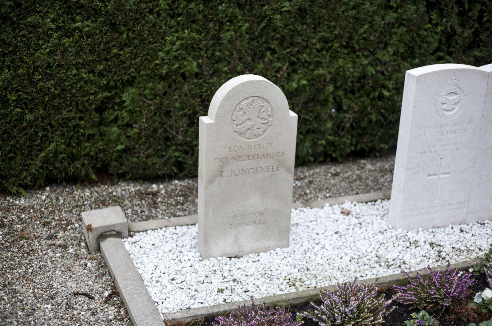 Goudriaan, Nederlands oorlogsgraf