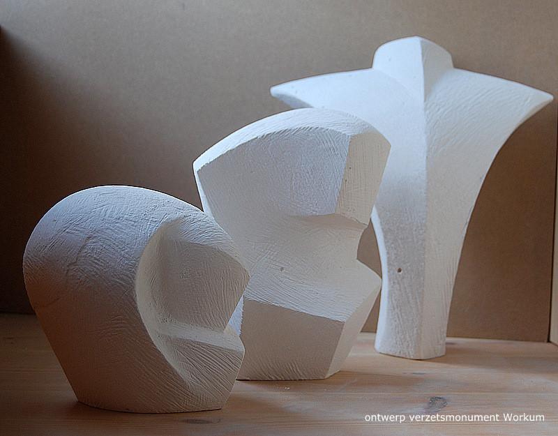 Workum, ontwerp verzetsmonument (foto: Ruth Vulto Gaube)