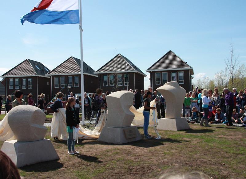 Workum, verzetsmonument (foto: Henk Gorter)