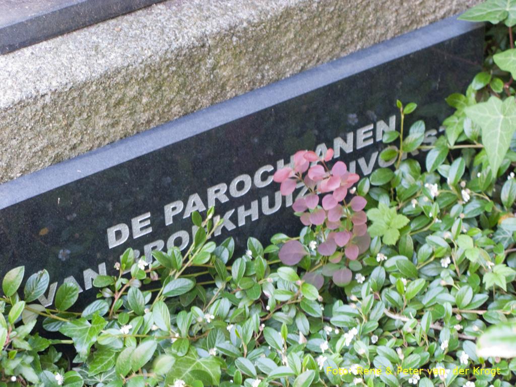 Broekhuizenvorst, monument op de R.K. begraafplaats