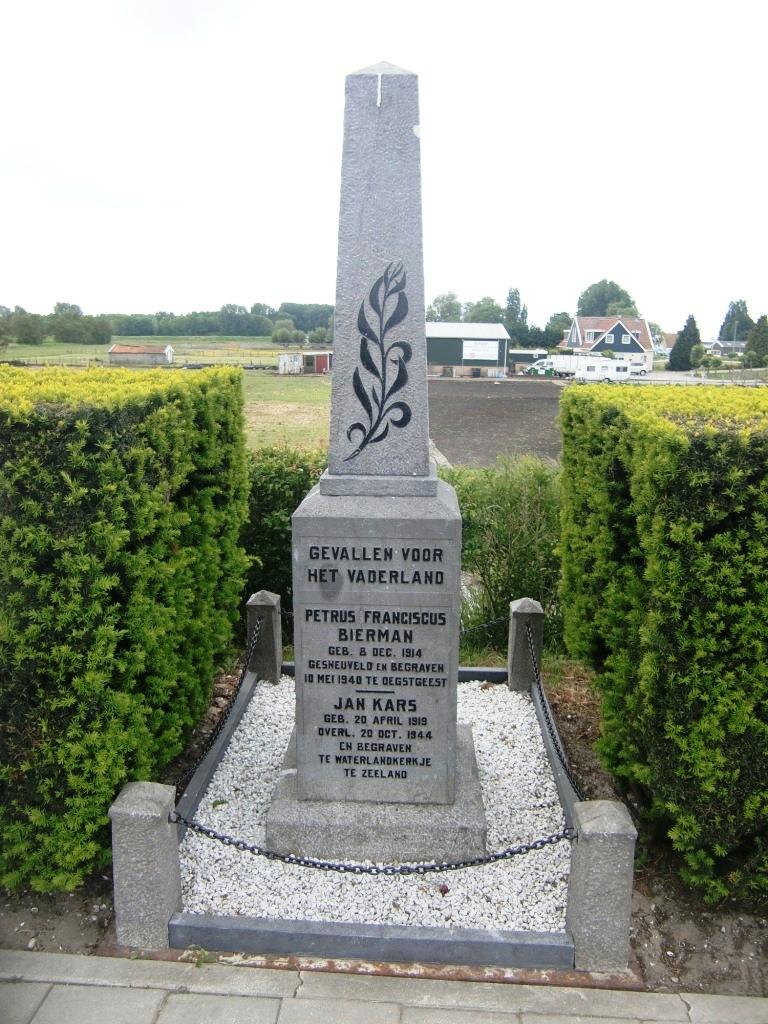 Amsterdam, monument op de Odorperweg